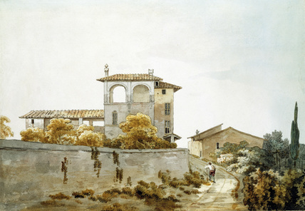 An Italian Villa, by William Pars