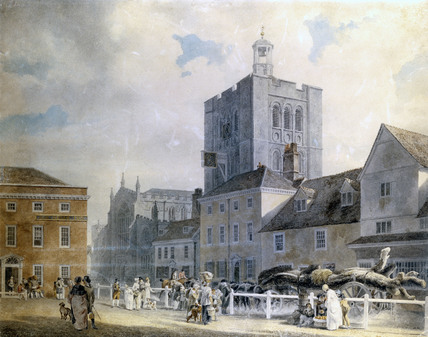 Bury St.Edmunds, by Michael Angelo Rooker