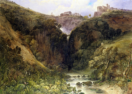 The Falls of Tivoli, by William Wyld