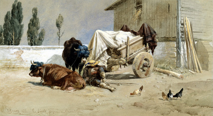 La Sieste, by Richard Beavis. England, 19th century