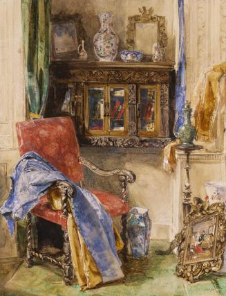 Interior of a Studio, by John Frederick Lewis