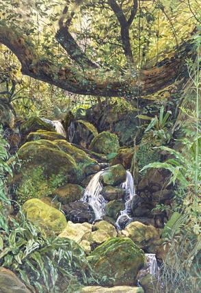 Landscape, by Henry Alexander Bowler
