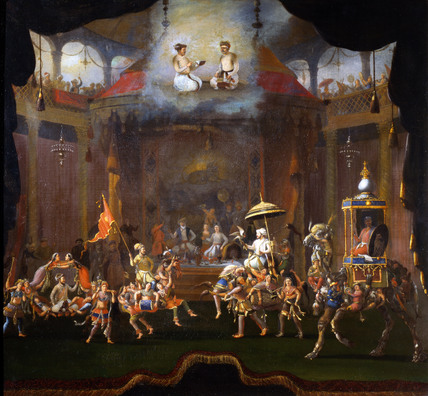Parade of the Sons of Shah Jahan, by William Schellinks