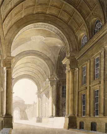Bridge at Somerset House, by Thomas Sandby