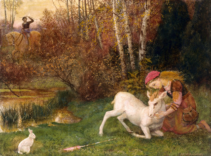 The White Hind, by Arthur Hughes
