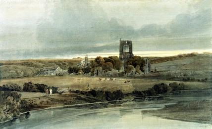 Kirkstall Abbey, by Thomas Girtin