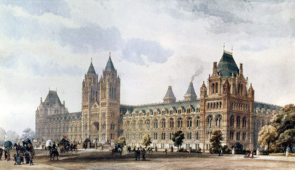 The Natural History Museum, by Alfred Waterhouse