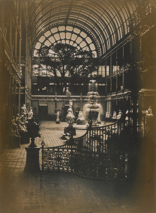 Great Exhibition 1851, photo Claude Marie Ferrier