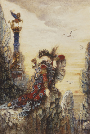 Sappho, by Gustave Moreau