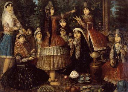 Ladies Around a Samovar
