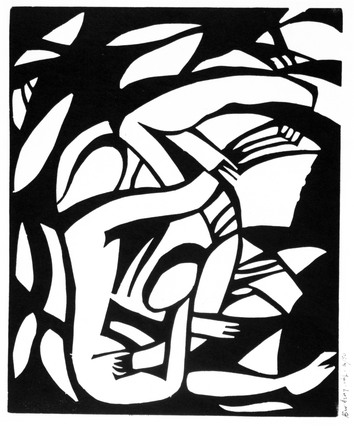 Wrestlers, by Henri Gaudier-Brzeska