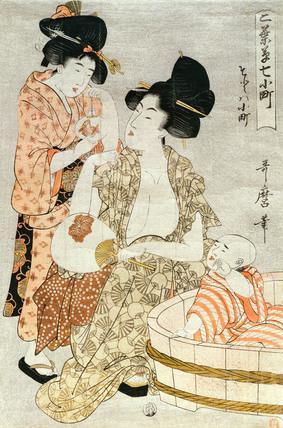 Representation of Sotoba Komachi, by Kitagawa Utamaro