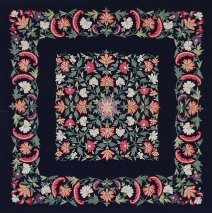 Textile. India, 19th century