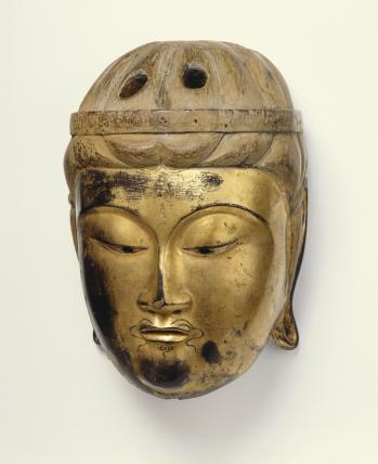 Mask. Japan, 14th century