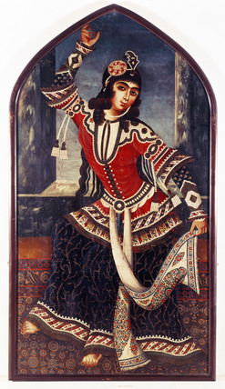 A Lady Dancing With Castanets