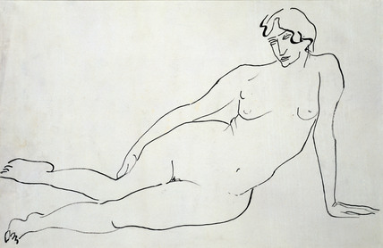Female Nude, by Henri Gaudier-Brzeska