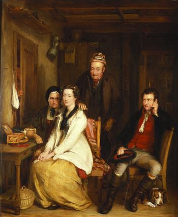 The Refusal, by Sir David Wilkie