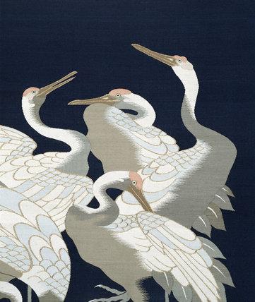 Textile, detail. Japan, 19th century