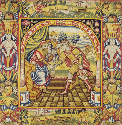 Textile. England, 17th century