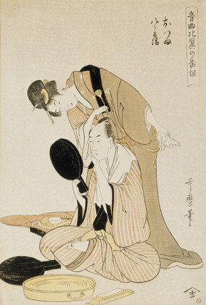 Otsuma and Hachirobe, by Kitagawa Utamaro