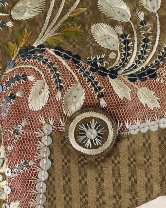 Coat, detail. England, 18th century