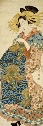 Picture of a Woman, by Katsukawa Shunsen