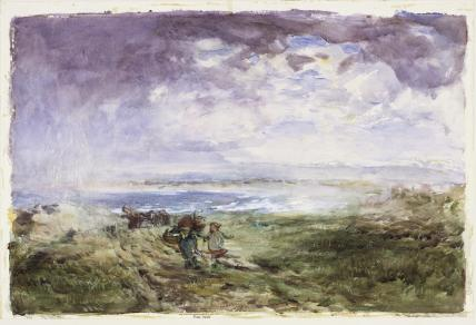 On The Scottish Shore, by Willliam McTaggart
