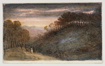 Landscape, by James Smetham