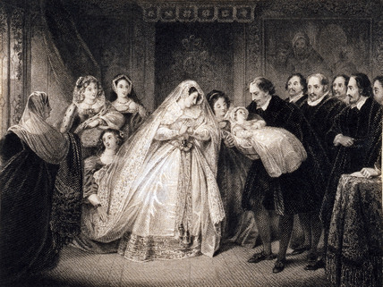 Mary Queen of Scots and her son, later James I