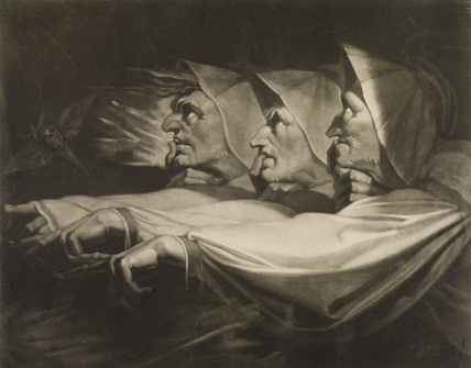 The Weird Sisters, by Henry Fuseli