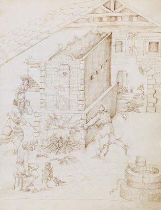 Page from Li tre libri dell'arte del vasaio, by Cipriano Piccolpasso