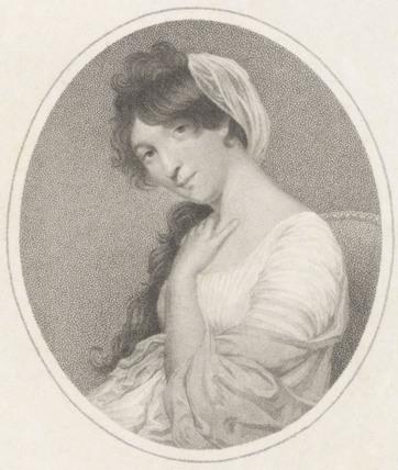 Portrait of Miss Mellon, by Allingham