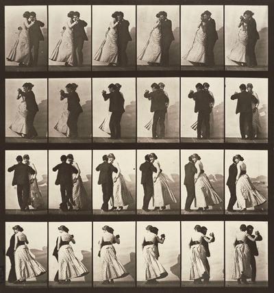 Dancing walz, photo Eadweard Muybridge