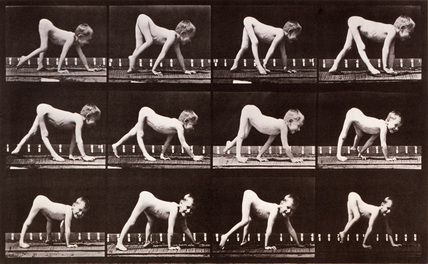 Child Crawling, photo Eadweard Muybridge