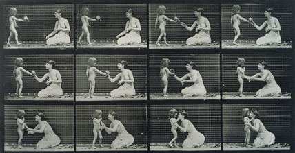 Child and Mother, photo Eadweard Muybridge