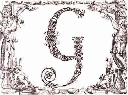 Initial G, by Francesco Giovanni Cresci