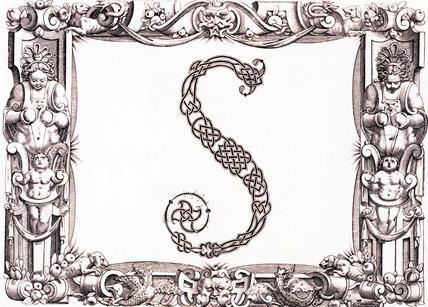 Initial S, by Francesco Giovanni Cresci