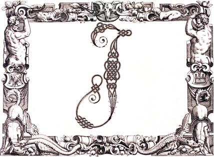 Initial J, by Francesco Giovanni Cresci