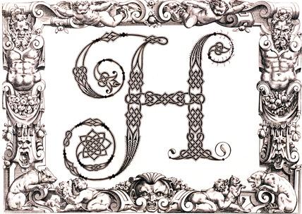 Initial H, by Francesco Giovanni Cresci