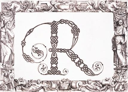 Initial R, by Francesco Giovanni Cresci