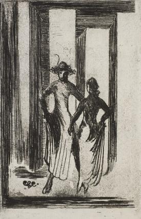 Sketch for Dancers, by Edward Gordon Craig