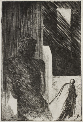 Design for the play The Man in The Iron Mask, by Edward Gordon Craig