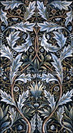Tile, by William Morris and William de Morgan
