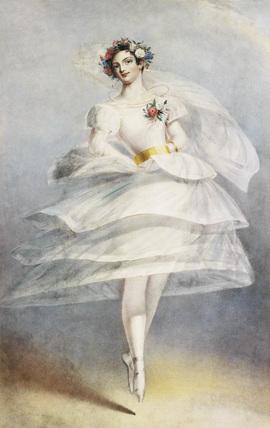 Fanny Ellsler in La Voliere