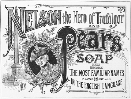 Advertisement for Pear's Soap