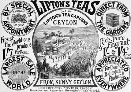 Lipton's Teas Advertisement