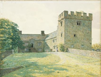 Catterton Hall, Cumberland, by G.P.Boyce