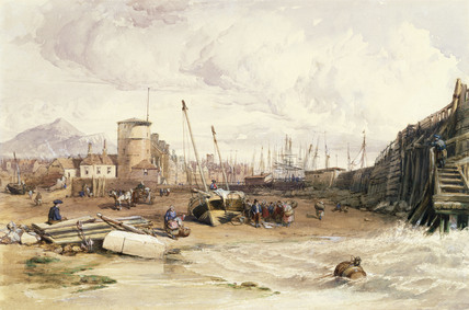 The Coast at Cromer, by Clarkson Stanfield