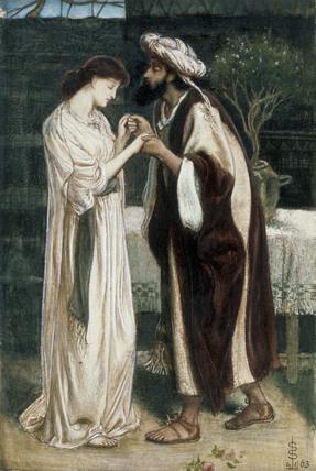 Isaac & Rebeccah, by Simeon Solomon