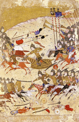 The Defeat of Pir Padishah in 1405